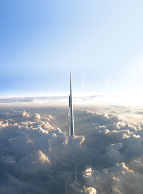 The world's tallest is set to change yet again  in 2018 with the completion of the Kingdom Tower  © Adrian Smith + Gordon Gill Architecture
